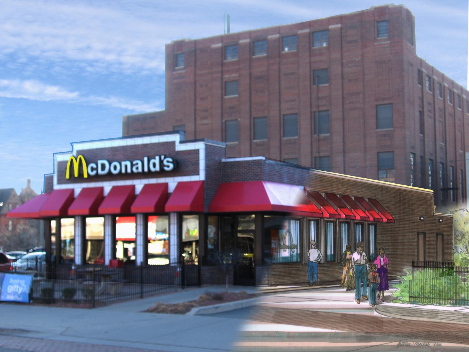 McDonald's Detroit McD's Blended