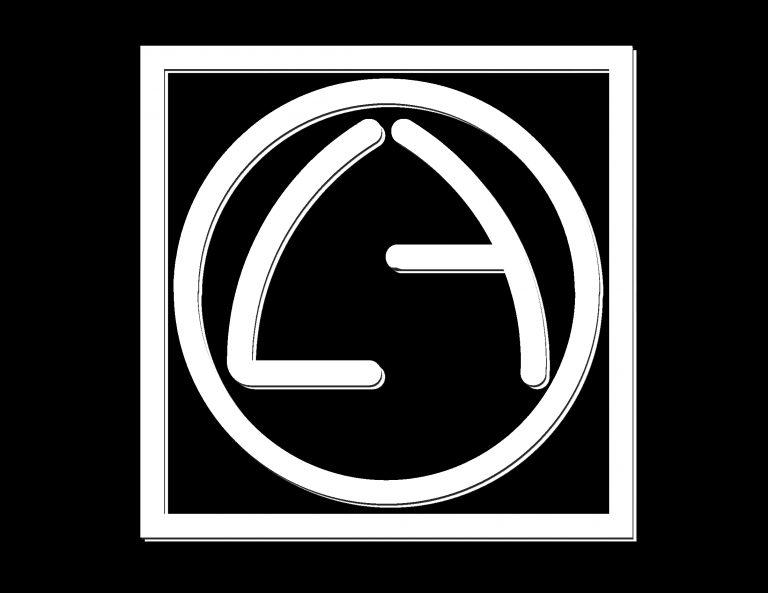 L+A LOGO BLACK LAYERS